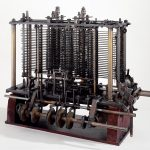 This was the first fully-automatic calculating machine. Quelle: Wikipedia